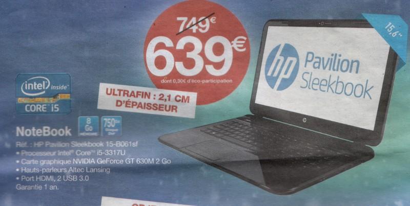 Publicité pour un PC